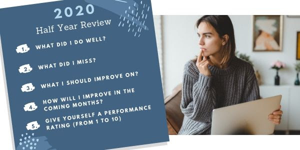 2020 half year review questions